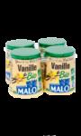 Yaourts bio à la vanille Malo