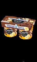 Desserts chocolat banane Mamie Nova
