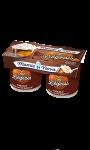 Desserts liégeois chocolat caramel Mamie Nova