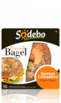 L\'instant Bagel saumon concombre & cream cheese Sodebo
