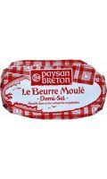 Beurre moulé demi-sel Paysan Breton