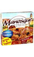 Pizza Familiale Royale Lot 2+1 gratuite La Pizza de Manosque