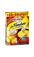 Fromage à fondue 3 fromages Président