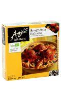 Plat cuisiné bio Spaghetti/boulettes végétales Amy's Kitchen