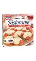 Pizzas Mozzarella Dr. Oetker