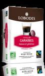 Capsules de café Espresso origine Caraïbes Bio Lobodis