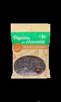 Pépites de chocolat Carrefour