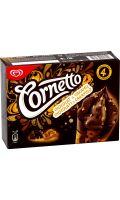 Glace chocolat & caramel Cornetto