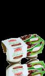 Yaourt au lait de chèvre sur lit de châtaignes Soignon