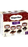 Glaces chocolat Haagen-dazs