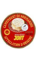 Camembert de Normandie au lait cru  Bernières Jort