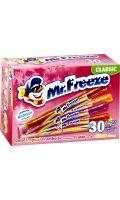Sucettes à congeler goûts assortis Mr Freeze