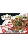 Boulettes halal à l'orientale Oriental Viandes