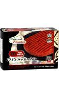 Steaks hachés halal 100% pur bœuf Oriental Viandes