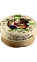 Petit Camembert bio au lait cru Marie Harel
