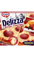 Pizza Delizz chorizo/fromages Dr Becher