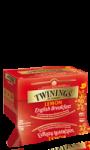 Thé au citron English breakfast Twinings