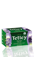 Thé vert Oriental Earl grey Tetley