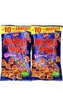 Biscuits apéritif goét barbecue Monster Munch