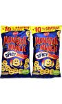Biscuits apéritif goût Spicy Monster Munch