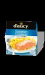 Plat cuisiné filet de saumon oseille/tagliatelles d'aucy