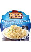 Plat cuisiné parmentier de poisson ciboulette La Cuisine d'Océane