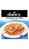 Plat cuisiné thon légumes D'aucy