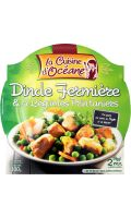 Plat cuisiné dinde/5 légumes La Cuisine d'Océane