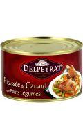 Plat cuisiné canard/légumes Delpeyrat