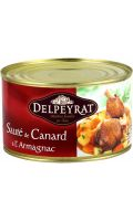 Plat cuisiné sauté canard Armagnac Delpeyrat