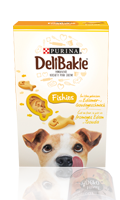 Biscuits snacks Fishies DeliBakie Purina