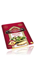 Fromage en tranches Cheddar Mature Cathedral City