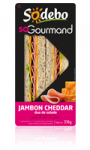 Sandwich So Gourmand jambon cheddar Sodebo