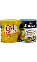 Légumes cuisinés jardinière au jus de carottes D'aucy