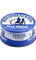 Thon albacore au naturel Petit Navire