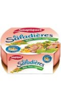 Salade de thon maïs, légumes Saupiquet