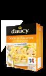 Gratin de Macaroni aux dés de poulet d'aucy