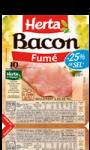 Bacon Sel Réduit Herta