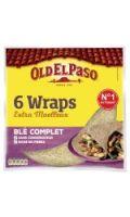 Wraps de blé complet Old el Paso