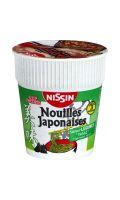 Nouilles japonaises saveur légumes Nissin