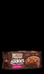 Super cookies coeur fondant au chocolat noir Michel et Augustin