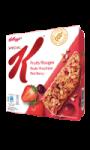 Barres céréales fruits rouges Special K