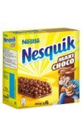 Barres céréales Maxi Choco Nesquik
