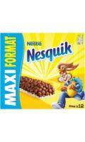 Barres au chocolat Nesquik