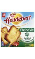 Biscotte Heudebert Pleine Vie sans sel ajouté