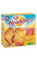 Heudebert Biscotte 6 céréales