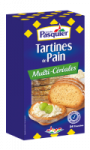 Tartines de Pain Multi-Céréales