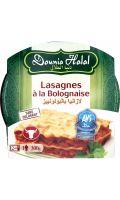 Plat cuisiné Lasagnes Bolognaise Dounia Halal