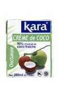 Crème de coco  Kara