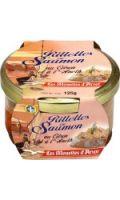 Rillettes saumon citron aneth Les Mouettes d'Arvor